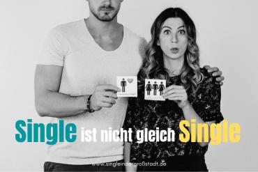 Single ist nicht gleich Single