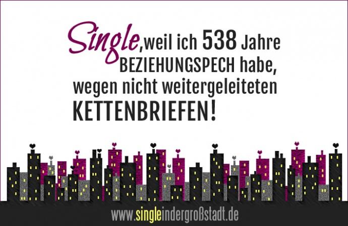 Spruch Single Weil