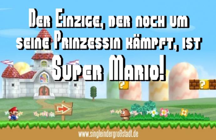 Spruch Super Mario