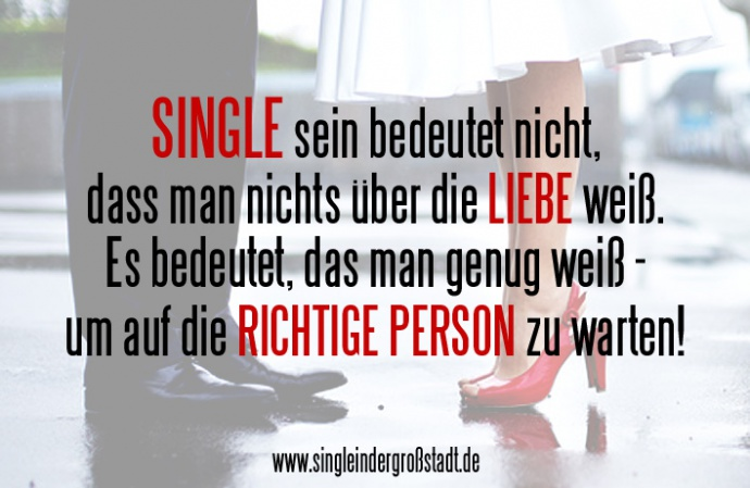Frau will lieber single sein