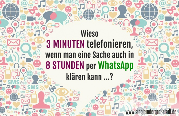 Single frauen per whatsapp