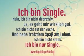 Das leben als single frau