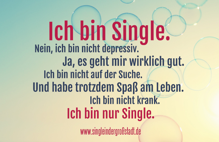 Frauen nie single