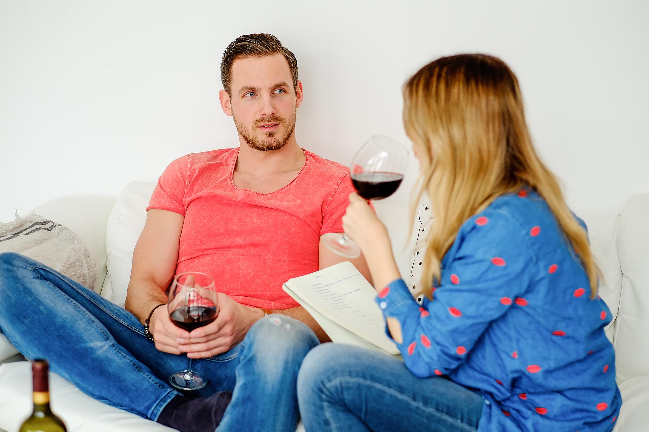 Männer verhalten beim kennenlernen