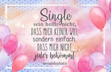 Gute gründe warum man single ist